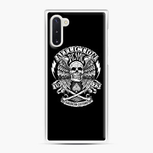affliction American Custom 1973 Samsung Galaxy Note 10 Case, White Plastic Case | Webluence.com