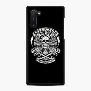 affliction American Custom 1973 Samsung Galaxy Note 10 Case, Black Rubber Case | Webluence.com
