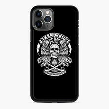 Load image into Gallery viewer, affliction American Custom 1973 iPhone 11 Pro Case, Black Rubber Case | Webluence.com