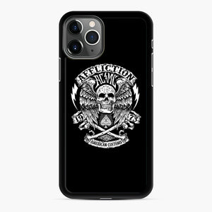 affliction American Custom 1973 iPhone 11 Pro Case, Black Rubber Case | Webluence.com