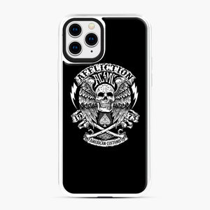 affliction American Custom 1973 iPhone 11 Pro Case, White Plastic Case | Webluence.com