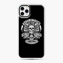 Load image into Gallery viewer, affliction American Custom 1973 iPhone 11 Pro Max Case, White Plastic Case | Webluence.com