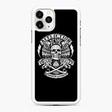 Load image into Gallery viewer, affliction American Custom 1973 iPhone 11 Pro Max Case, White Rubber Case | Webluence.com