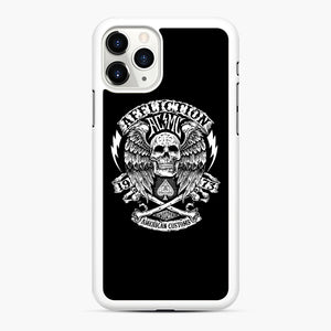affliction American Custom 1973 iPhone 11 Pro Max Case, White Rubber Case | Webluence.com