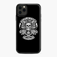 Load image into Gallery viewer, affliction American Custom 1973 iPhone 11 Pro Max Case, Black Plastic Case | Webluence.com