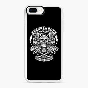 affliction American Custom 1973 iPhone 7,8 Plus Case, White Rubber Case | Webluence.com