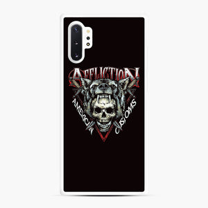 affliction American Custom Samsung Galaxy Note 10 Plus Case, White Rubber Case | Webluence.com
