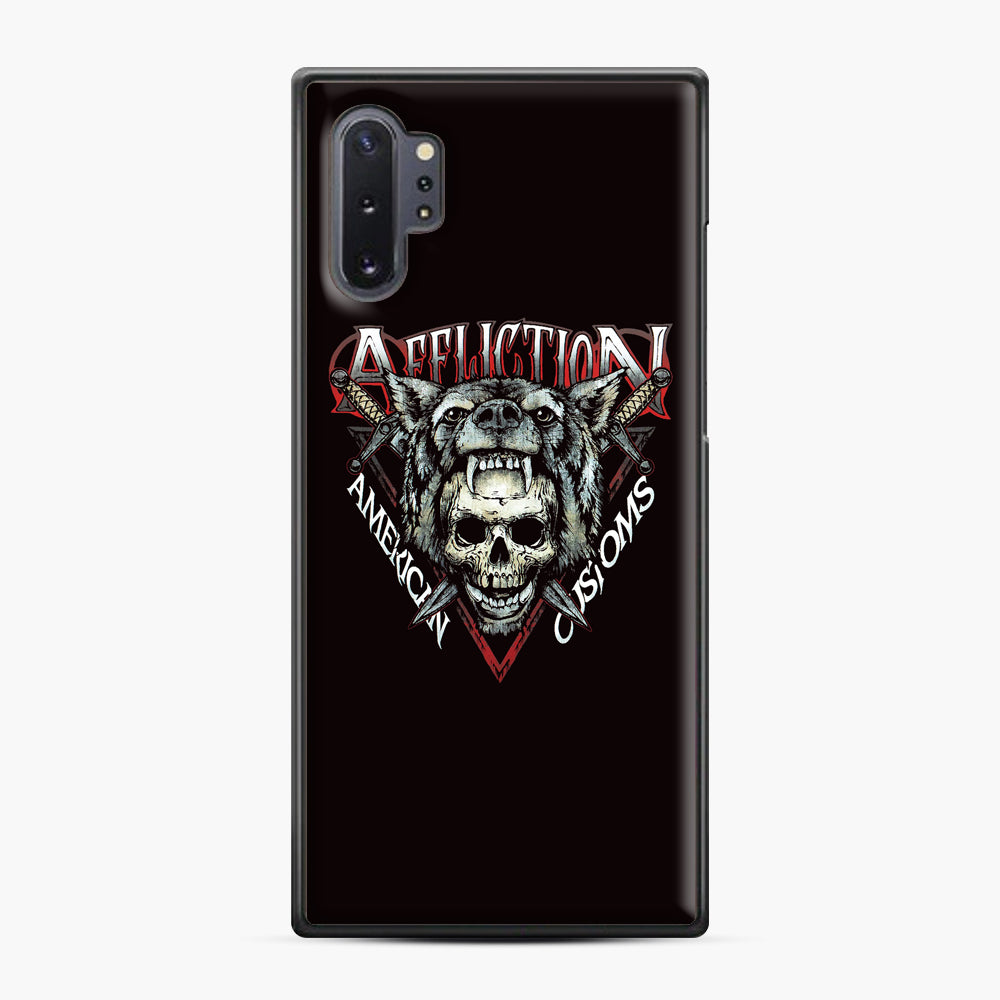 affliction American Custom Samsung Galaxy Note 10 Plus Case, Black Plastic Case | Webluence.com
