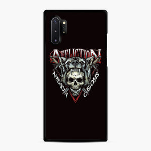 affliction American Custom Samsung Galaxy Note 10 Plus Case, Black Rubber Case | Webluence.com