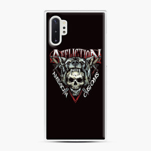 affliction American Custom Samsung Galaxy Note 10 Plus Case, White Plastic Case | Webluence.com