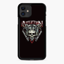 Load image into Gallery viewer, affliction American Custom iPhone 11 Case, Black Rubber Case | Webluence.com