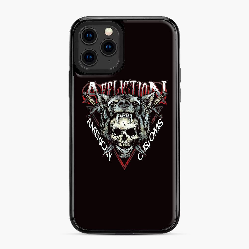 affliction American Custom iPhone 11 Pro Case, Black Plastic Case | Webluence.com