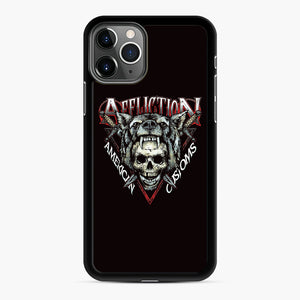 affliction American Custom iPhone 11 Pro Case, Black Rubber Case | Webluence.com