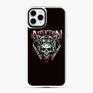 affliction American Custom iPhone 11 Pro Case, White Plastic Case | Webluence.com