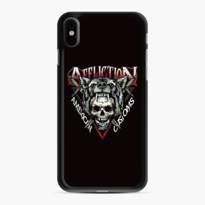 affliction American Custom iPhone XS Max Case, Black Rubber Case | Webluence.com