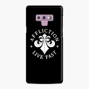 affliction live fast Samsung Galaxy Note 9 Case, Snap Case | Webluence.com