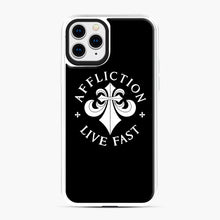 Load image into Gallery viewer, affliction live fast iPhone 11 Pro Case, White Plastic Case | Webluence.com