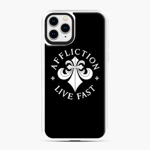 affliction live fast iPhone 11 Pro Case, White Plastic Case | Webluence.com