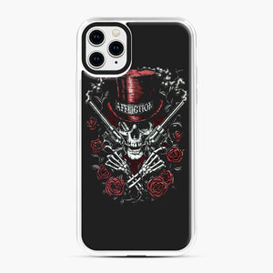 affliction skulls iPhone 11 Pro Max Case, White Plastic Case | Webluence.com