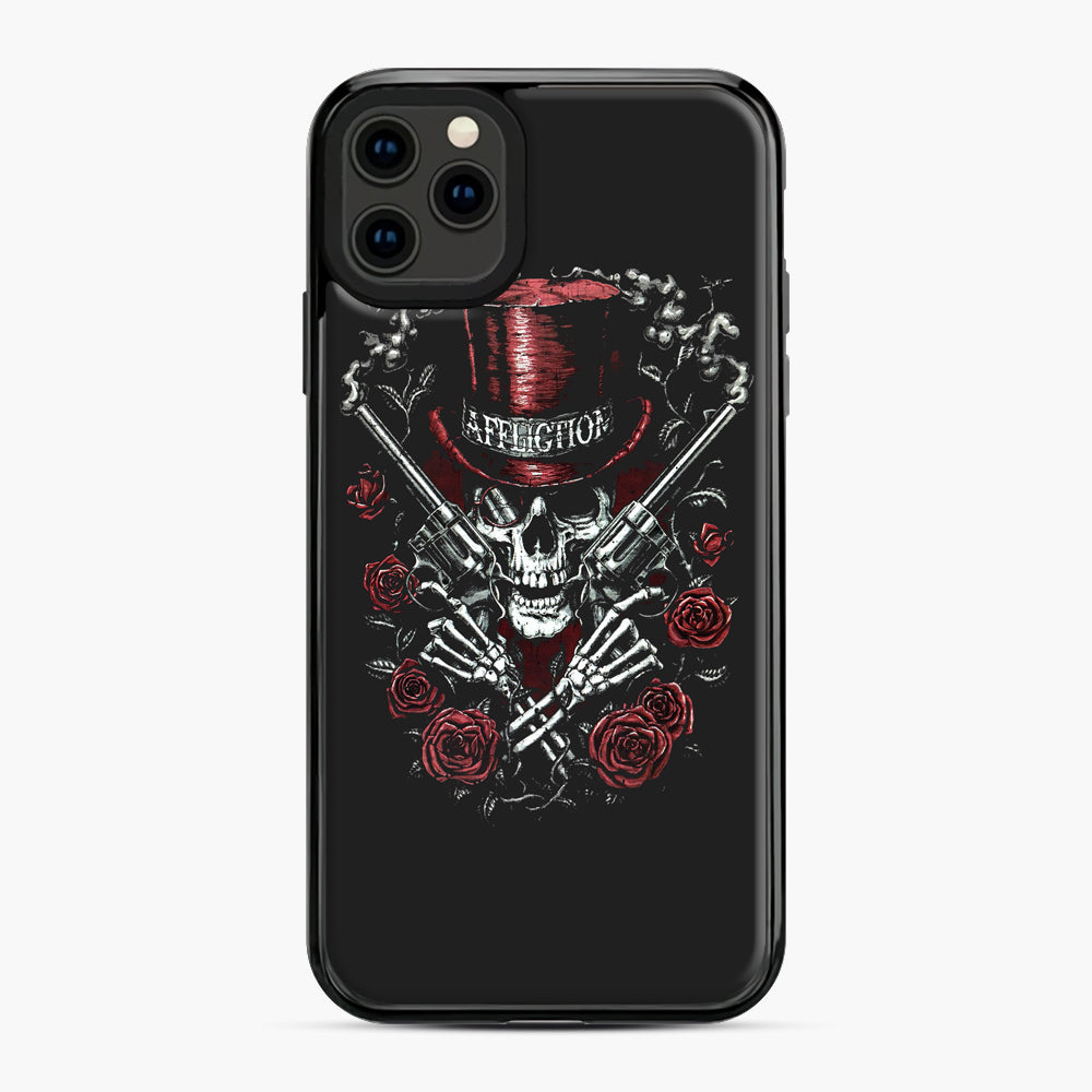 affliction skulls iPhone 11 Pro Max Case, Black Plastic Case | Webluence.com