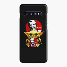 Load image into Gallery viewer, baby yoda hug kfc Samsung Galaxy S10 Plus Case, Snap Case | Webluence.com