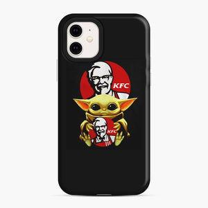 baby yoda hug kfc iPhone 11 Case, Snap Case | Webluence.com
