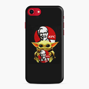 baby yoda hug kfc iPhone 7/8 Case, Snap Case | Webluence.com