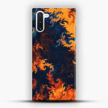 Load image into Gallery viewer, flames of fire 1 Samsung Galaxy Note 10 Case, Snap Case | Webluence.com
