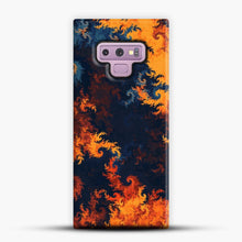 Load image into Gallery viewer, flames of fire 1 Samsung Galaxy Note 9 Case, Snap Case | Webluence.com