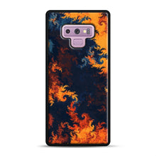 Load image into Gallery viewer, flames of fire 1 Samsung Galaxy Note 9 Case, Black Rubber Case | Webluence.com