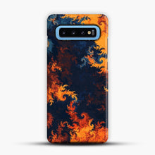 Load image into Gallery viewer, flames of fire 1 Samsung Galaxy S10 Case, Snap Case | Webluence.com