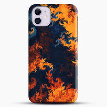 Load image into Gallery viewer, flames of fire 1 iPhone 11 Case.jpg, Snap Case | Webluence.com