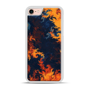 flames of fire 1 iPhone 7/8 Case.jpg, White Rubber Case | Webluence.com