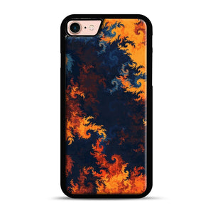flames of fire 1 iPhone 7/8 Case.jpg, Black Rubber Case | Webluence.com