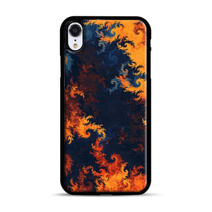 flames of fire 1 iPhone XR Case, Black Rubber Case | Webluence.com