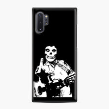 Load image into Gallery viewer, misfits cash Samsung Galaxy Note 10 Plus Case, Black Plastic Case | Webluence.com