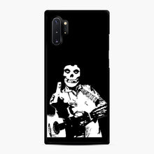 Load image into Gallery viewer, misfits cash Samsung Galaxy Note 10 Plus Case, Black Rubber Case | Webluence.com