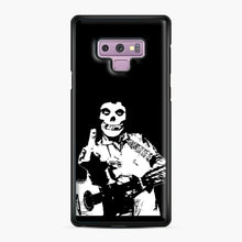 Load image into Gallery viewer, misfits cash Samsung Galaxy Note 9 Case, Black Plastic Case | Webluence.com
