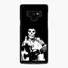 Load image into Gallery viewer, misfits cash Samsung Galaxy Note 9 Case, Black Rubber Case | Webluence.com