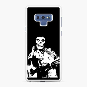 misfits cash Samsung Galaxy Note 9 Case, White Rubber Case | Webluence.com