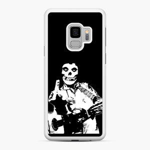 misfits cash Samsung Galaxy S9 Case, White Rubber Case | Webluence.com