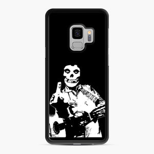 misfits cash Samsung Galaxy S9 Case, Black Rubber Case | Webluence.com