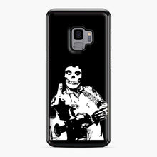 Load image into Gallery viewer, misfits cash Samsung Galaxy S9 Case, Black Plastic Case | Webluence.com