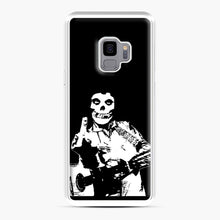 Load image into Gallery viewer, misfits cash Samsung Galaxy S9 Case, White Plastic Case | Webluence.com
