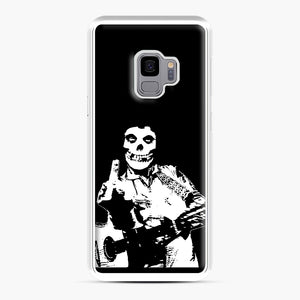 misfits cash Samsung Galaxy S9 Case, White Plastic Case | Webluence.com