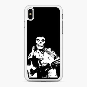 misfits cash iPhone XS Max Case, White Rubber Case | Webluence.com