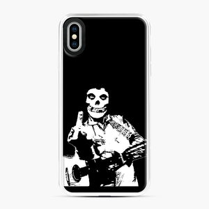 misfits cash iPhone XS Max Case, White Plastic Case | Webluence.com
