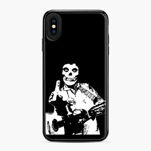misfits cash iPhone XS Max Case, Black Plastic Case | Webluence.com