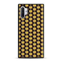 Load image into Gallery viewer, trippy cowboy emoji Samsung Galaxy Note 10 Plus Case, Black Rubber Case | Webluence.com