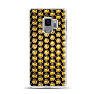 trippy cowboy emoji Samsung Galaxy S9 Case, White Rubber Case | Webluence.com